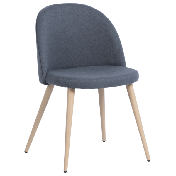 Трапезен стол - 514 тъмно сив