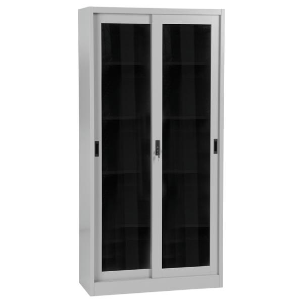 Метален шкаф CR-1267 JM - сив