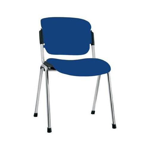Посетителски стол - Era Chrome син