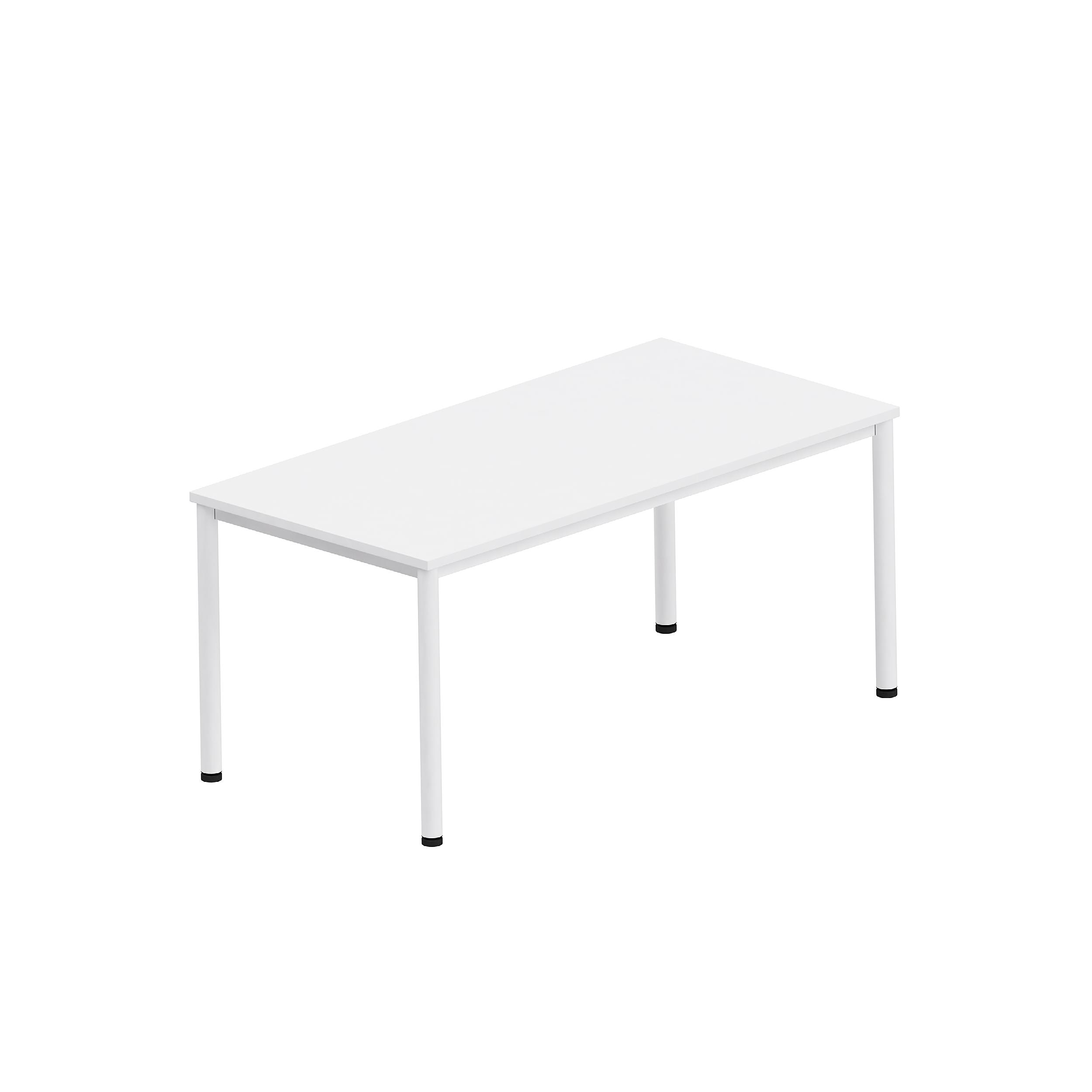Офис бюро с кръгъл крак - Easy Space