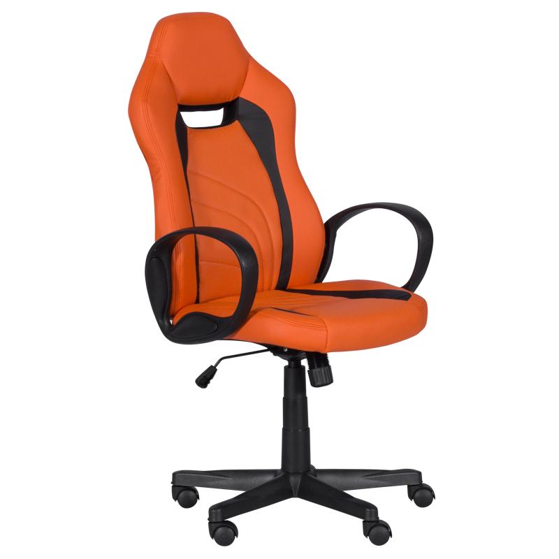 Геймърски стол 7525 R - оранжево-черен