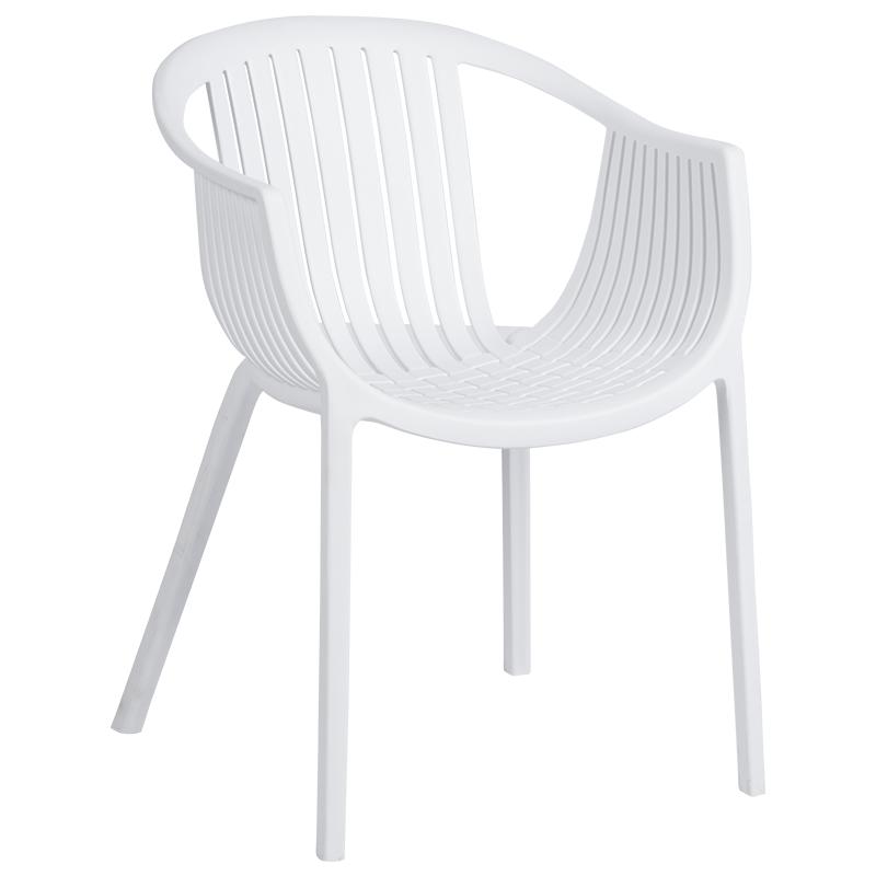 Трапезен стол 9941 - бял