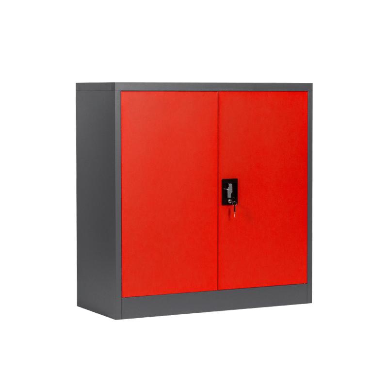 Метален шкаф - CR 1239 E SAND 90 червен-графит