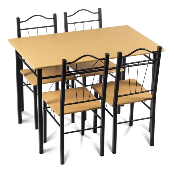 Маса с 4 стола - 20009 бук