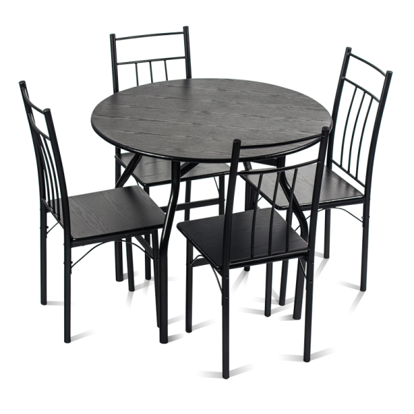 Маса с 4 стола - 20010 венге