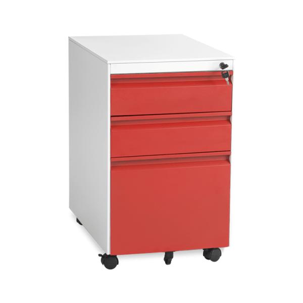 Офис Контейнер-CR 1249 L червен