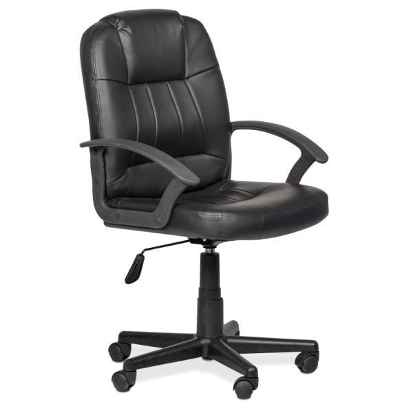 Офис стол-6080 черен