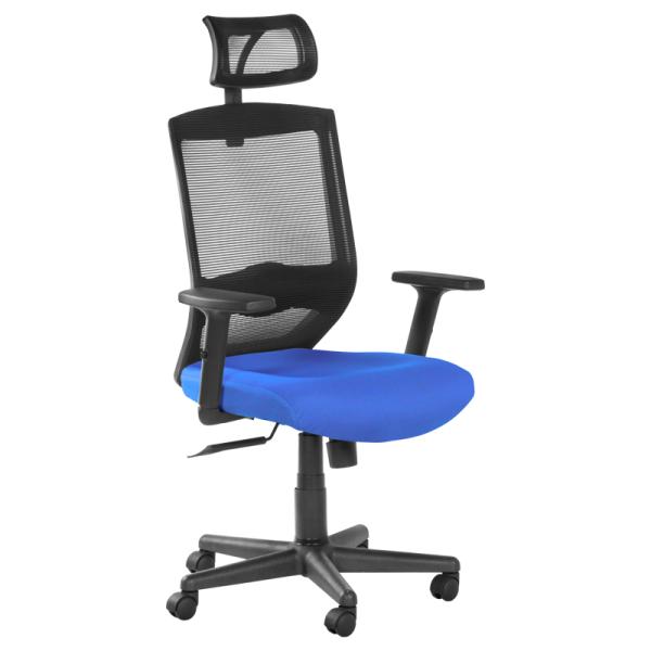 Офис стол-7518 син