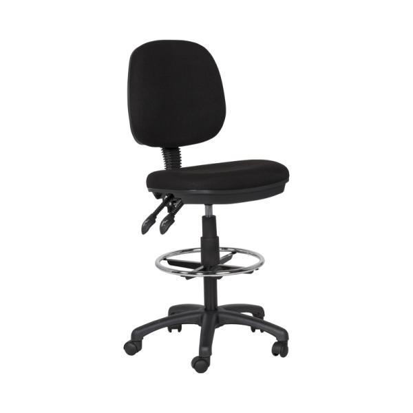 Офис стол 7551 - черен
