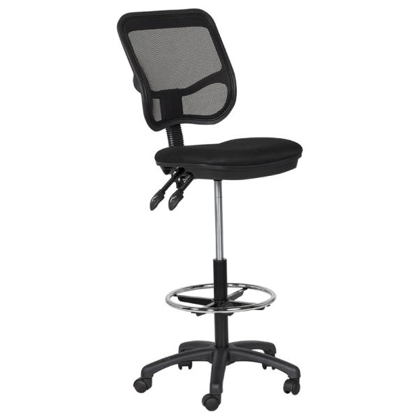 Офис стол 7552 - черен