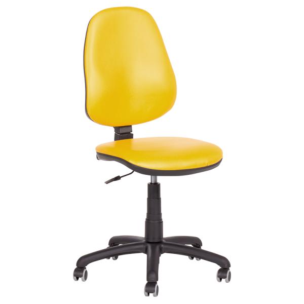 Офис стол - Polo еко жълт