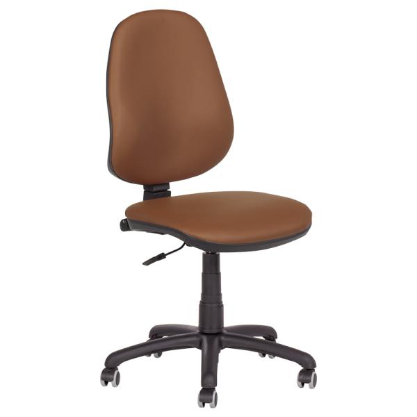 Офис стол - Polo еко кафяв