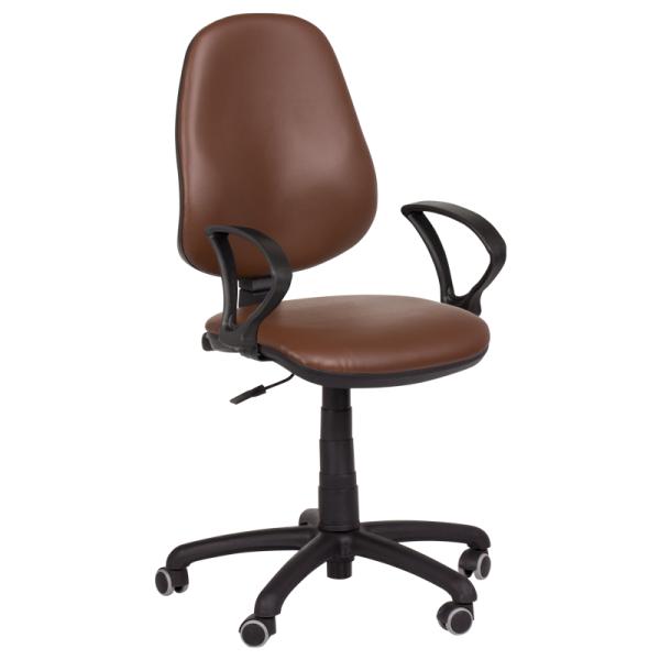 Офис стол - Polo тъмно кафяв