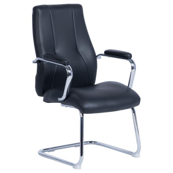 Посетителски стол - 6542 черен