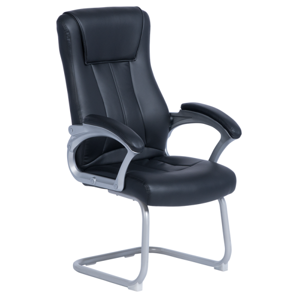 Посетителски стол 6543 - черен