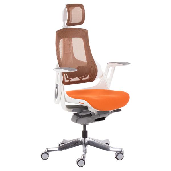 Офис стол-Ambra оранжев