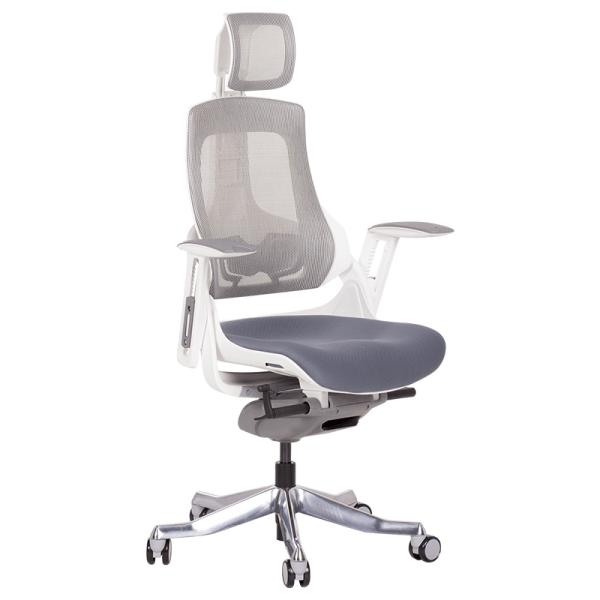 Офис стол-Ambra сив