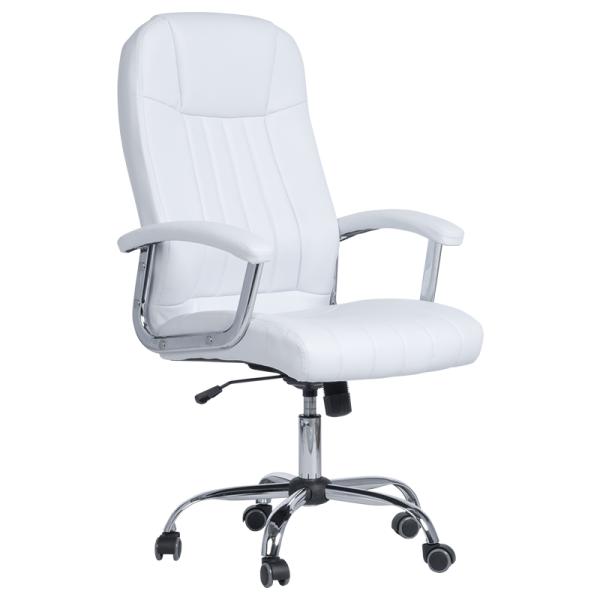 Офис стол - 6181 бял