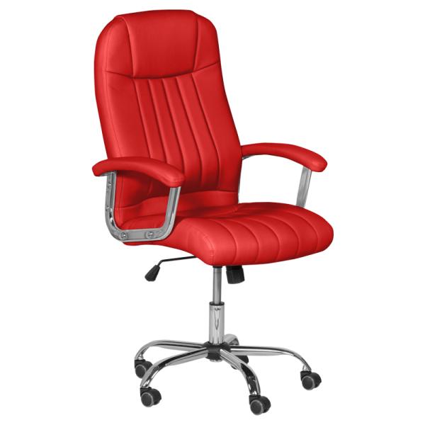 Офис стол-6181 червен