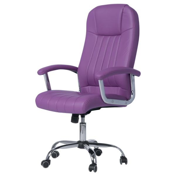 Офис стол-6181 лилав