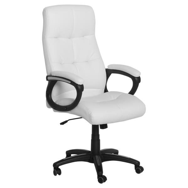 Офис стол - 6504 бял