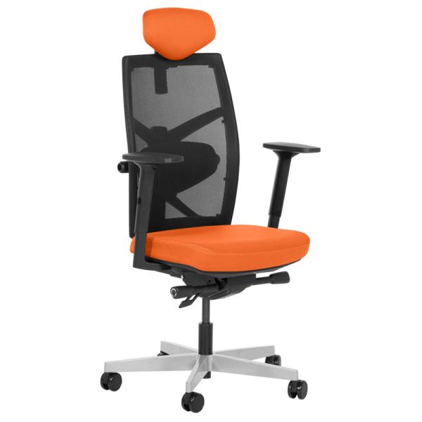 Офис стол-Fredo оранжев
