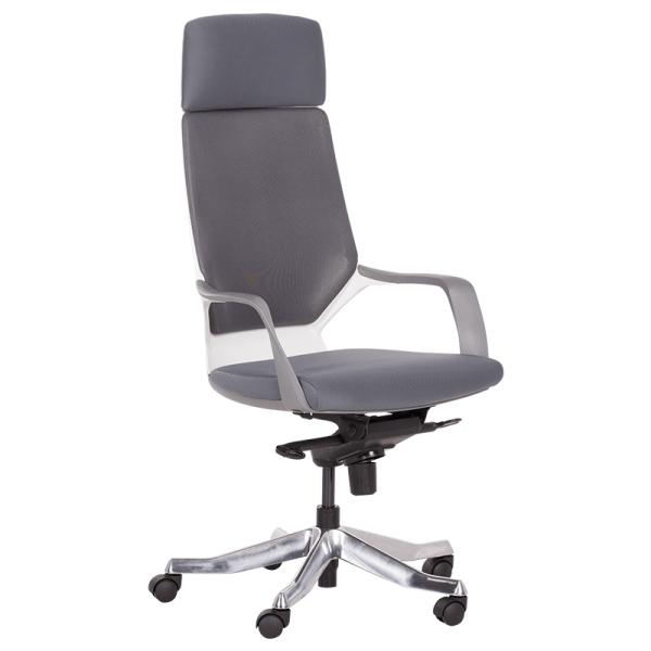 Офис стол-Gino сив