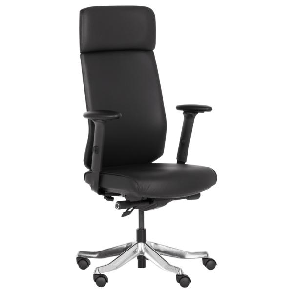 Офис стол-Laura черен
