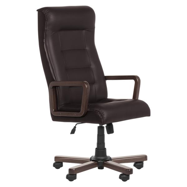 Офис стол - Royal тъмно кафяв