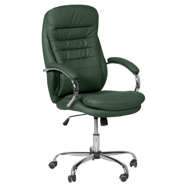 Офис стол-6113 маслено зелен
