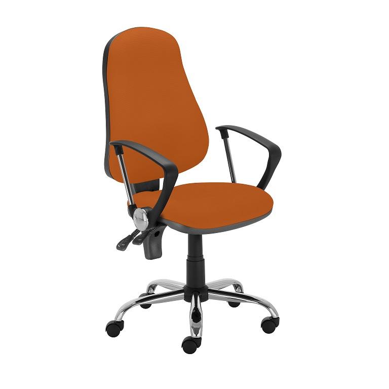 Работен стол - Punkt Steel - оранжев