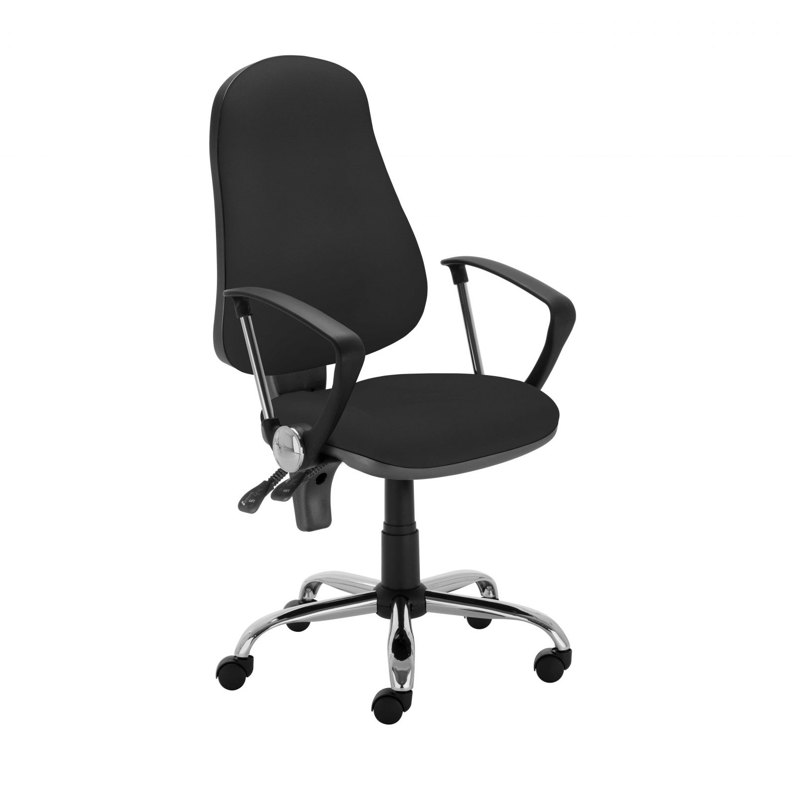 Работен стол - Punkt Steel - черен