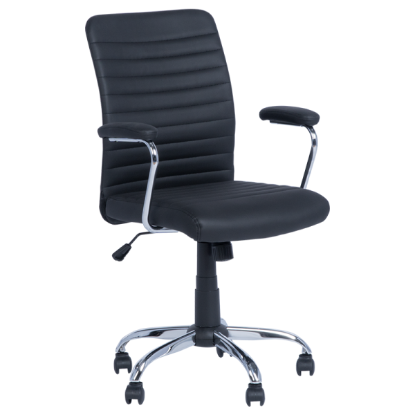 Работен стол 6512 - черен