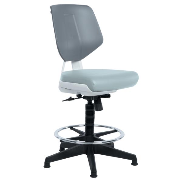 Офис стол - LAB LUX сив SIL