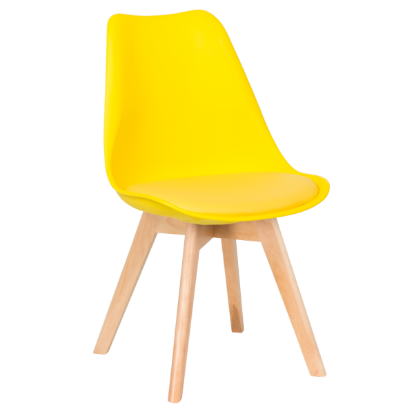 Трапезен стол - 9958 жълт