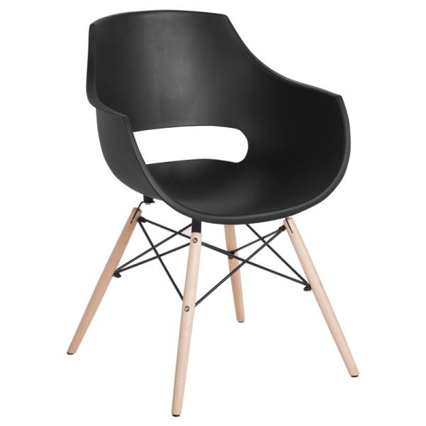 Трапезен стол-9965 черен
