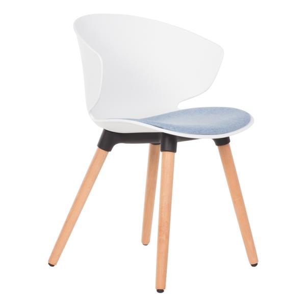 Трапезен стол - 9969 бял