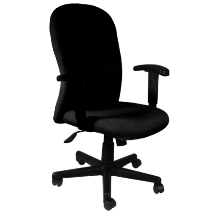 Офис стол-6067 черен