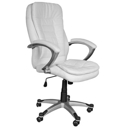 Офис стол-6013 бял