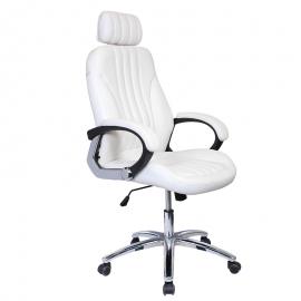Офис стол-6058 бял
