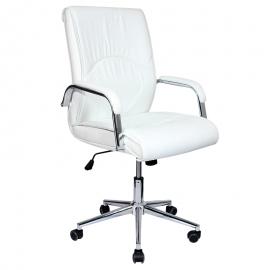 Офис стол-6060 бял