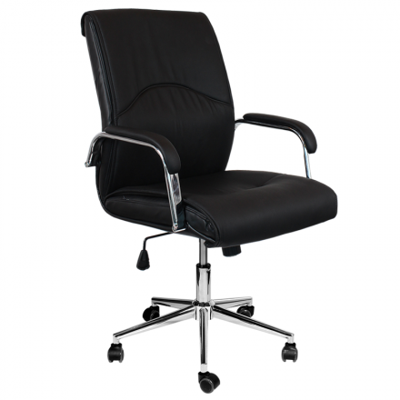 Офис стол-6060 черен