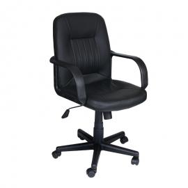 Офис стол-6075 черен