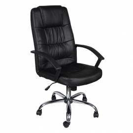 Офис стол-6076 черен