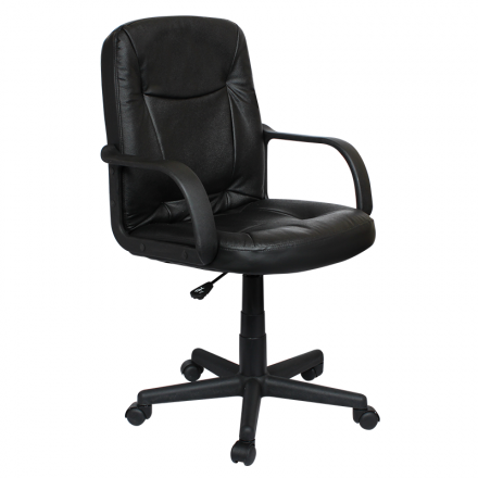 Офис стол-8011 черен