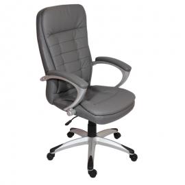 Офис стол-6013 -тъмно сив