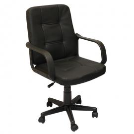 Офис стол-8015 черен