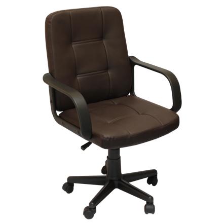 Офис стол-8015 кафяв