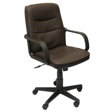 Офис стол-8016 черен