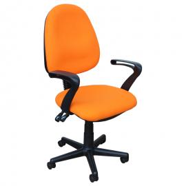 Офис стол – 6079 оранжев